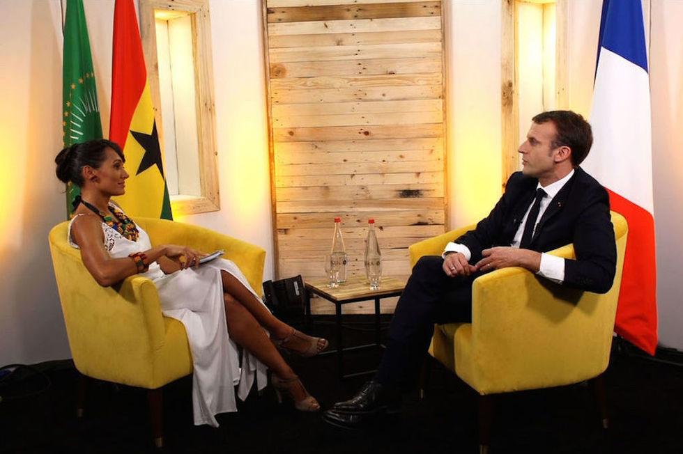 Emmanuel MACRON - Président Français | Interview Alice Tumler